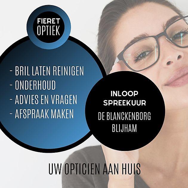Inloopspreekuur Stichting Zorgcentrum 'de Blanckenborg' in Blijham - Fieret Optiek Pekela